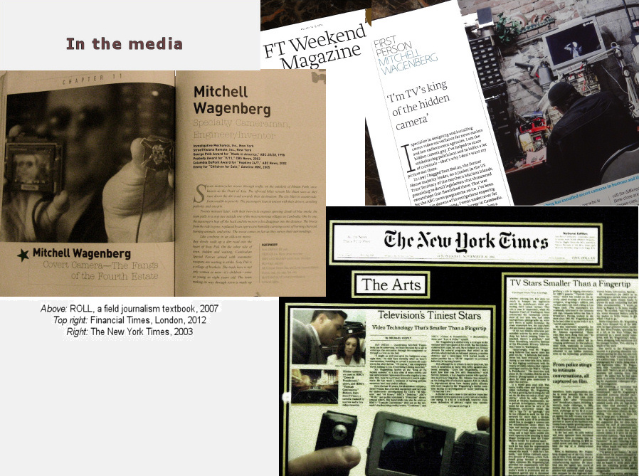 Articles: Mitchell Wagenberg in the media